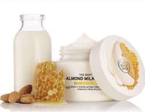 REVIEW Bộ Dưỡng Thể The Body Shop Almond Milk & Honey 9