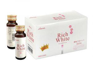 Nước Uống Collagen Rich White Ihana Nhật Bản Trắng Da, Bổ Xung Collagen 1