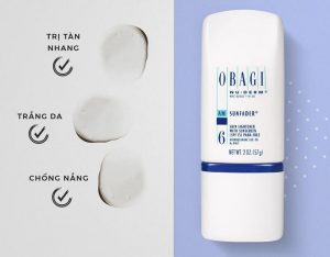 Công dụng của kem dưỡng ngày Obagi Nuderm Sunfader