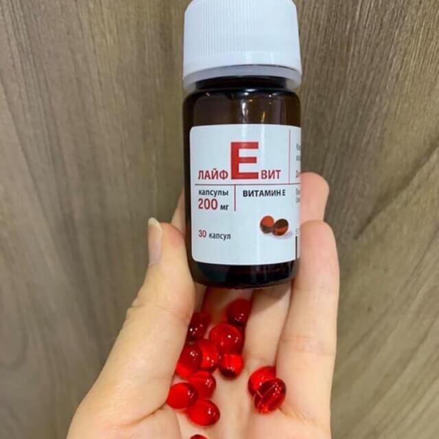 Hướng dẫn sử dụng vitamin E đỏ Nga Zentiva