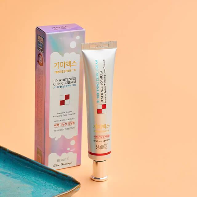 REVIEW Kem Trị Nám 3D Whitening Clinic Cream Melasma Hàn Quốc 1