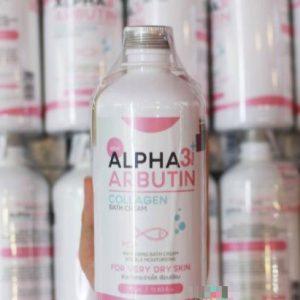 Sữa tắm Alpha Arbutin 3+ Plus 350ml có tốt không?