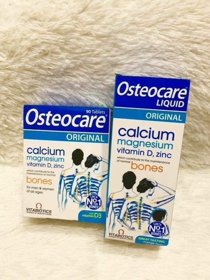 Canxi Osteocare có mấy loại?
