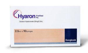 REVIEW tiêm HA Hyaron 2.5ml