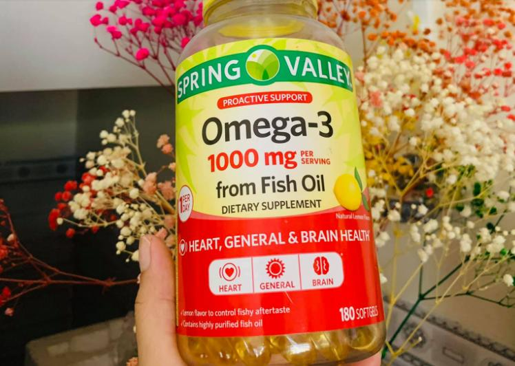 Spring Valley Fish Oil 1000 mg.