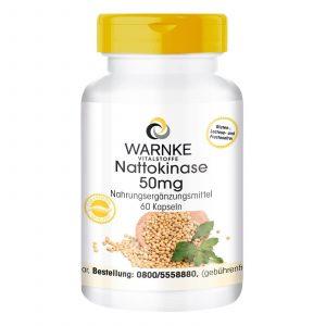 Thuốc chống đột quỵ của Đức Warnke Nattokinase 50 mg