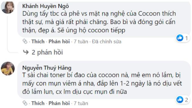 Review mỹ phẩm Cocoon
