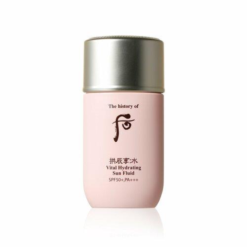Kem chống nắng Whoo hồng: làm dịu và giảm bớt độ bỏng rát cho da