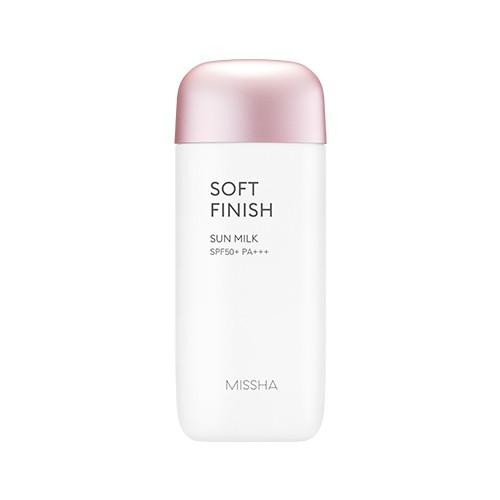 REVIEW Kem chống nắng Missha hồng Soft Finish