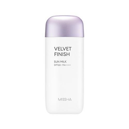 REVIEW Kem chống nắng Missha tím Velvet Finish