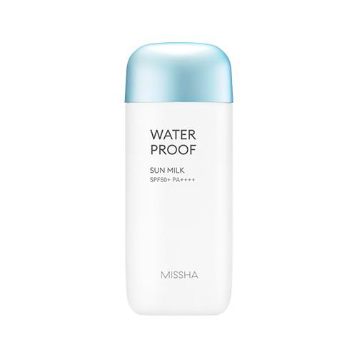 REVIEW kem chống nắng missha xanh dương Water proof